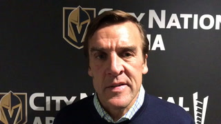George McPhee is grateful to the Islanders for keeping him involved in NHL