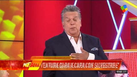 Luis Ventura y Silvestre protagonizaron un escándalo en vivo