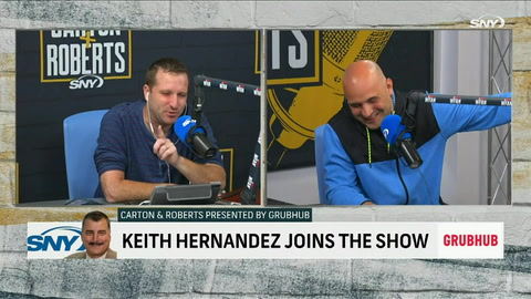 Keith Hernandez tells Craig Carton and Evan Roberts why he loved playing on the road
