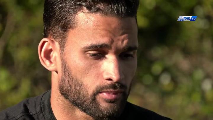 Willian José, delantero de la Real Sociedad, pide disculpas a la afición
