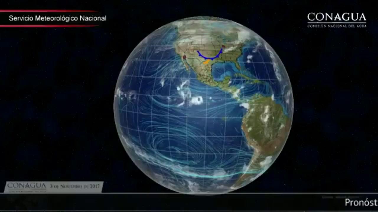 Pronóstico del tiempo para hoy 3 de noviembre