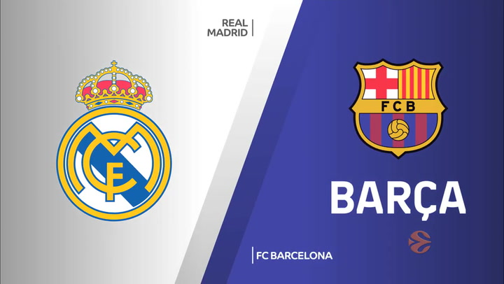 Euroliga: Real Madrid - FC Barcelona