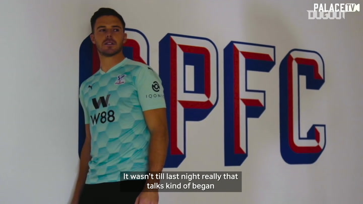Jack Butland's first Palace interview
