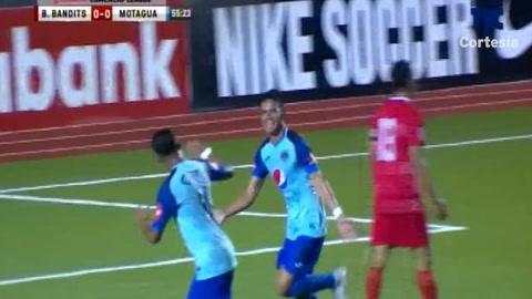Gol de Motagua al Belmopan (Liga Concacaf 2018)