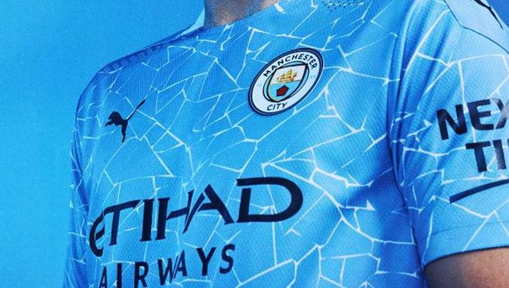 Así es la nueva primera equipación del Manchester City con Puma