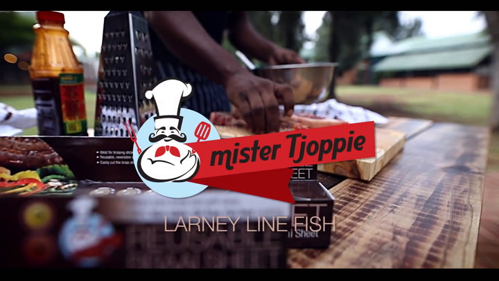 Preview image of Mister Tjoppie Braai Sheet Fish Braai video