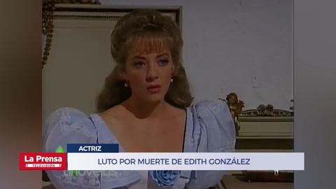 Muere la actriz mexicana Edith González