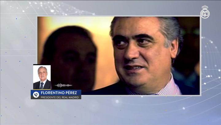 Florentino Pérez despedía así a Lorenzo Sanz fallecido víctima del coronavirus