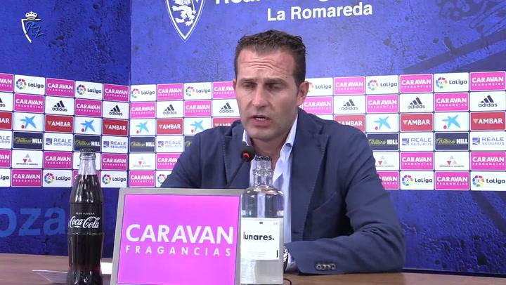 Declaraciones de Rubén Baraja, nuevo entrenador del Real Zaragoza