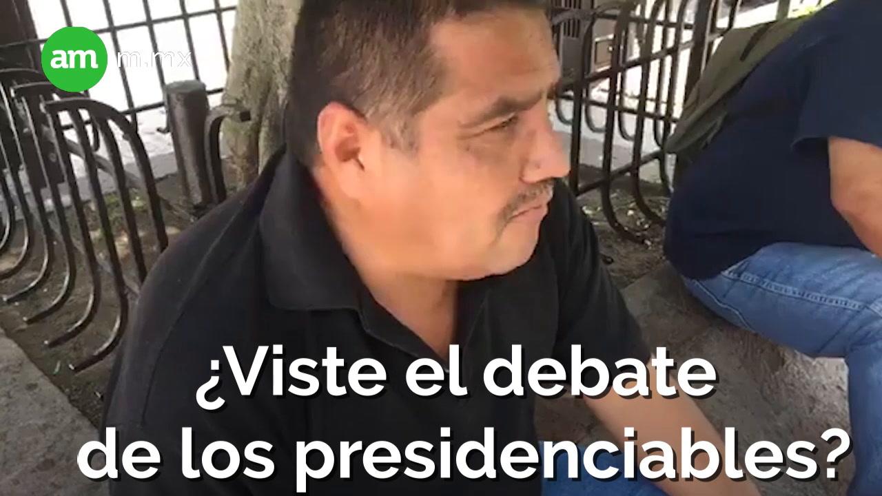 ¿Viste el Debate?
