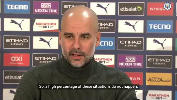 Guardiola praises John Stones ahead of Villa clash