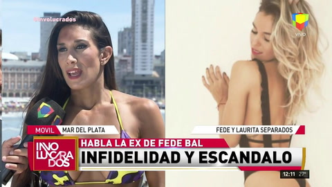 Flor Marcasoli dijo sentirse traicionada ante el romance entre Becky Vázquez y Fede Bal