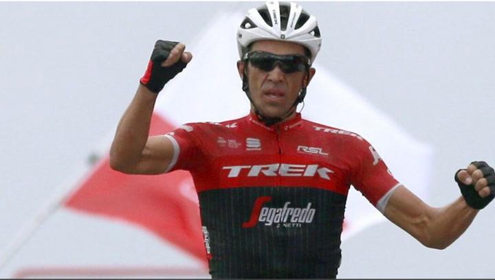 Victoria de Alberto Contador en l'Angliru en La Vuelta 2017