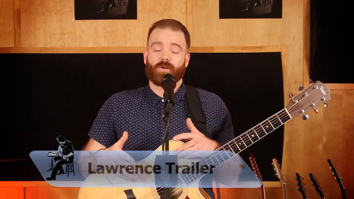 Lawrence Trailer performs Far Away on The Jimmy Lloyd Songwriter Showcase
