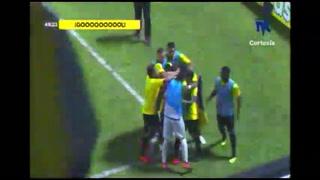 ¡Gol de Real España! Allans Vargas hace el 2-1 ante Real de Minas