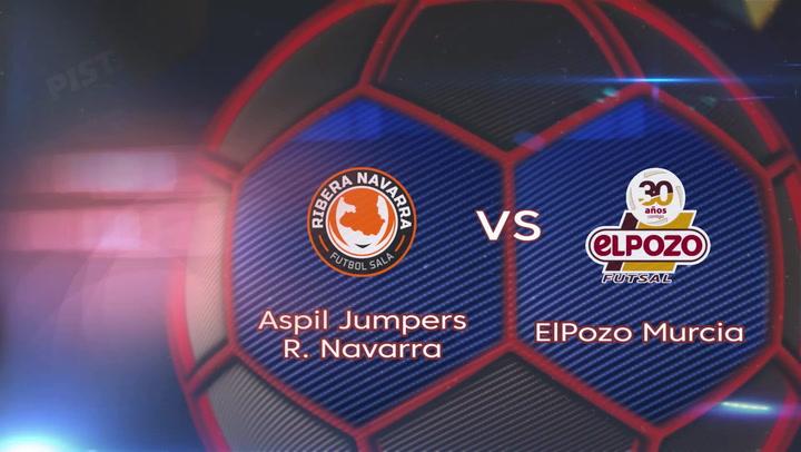 LNFS. Jornada 3: Aspil Jumpers Rivera Navarra - ElPozo Murcia (0-2), Temp 2019-2020