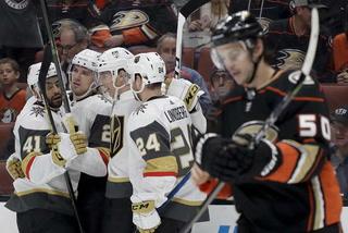 Golden Edge: Golden Knights Beat The Ducks