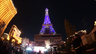 Paris Las Vegas  Debuts New Eiffel Tower Light Show