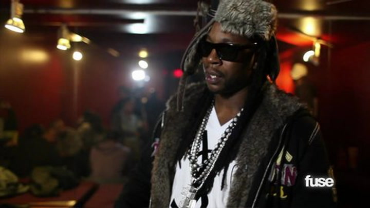 Chopping It Up Backstage with 2 Chainz