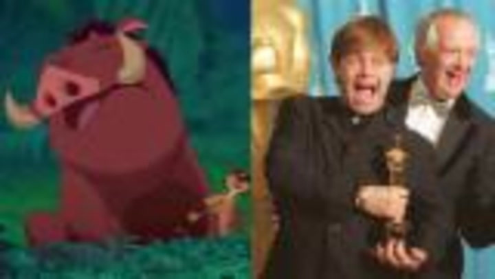 """The Real Reason Timon and Pumbaa Didn't Sing """"Can You Feel the Love Tonight"""""""