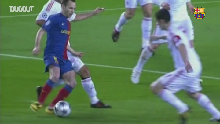 Semua Gol Lionel Messi Lawan Bayern Munich