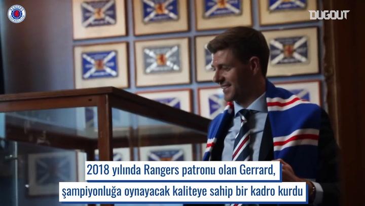 Steven Gerrard'ın Rangers Devrimi