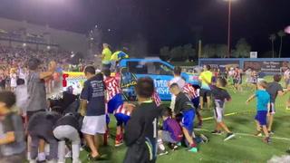 Las Vegas Lights Host Water Balloon Fight – Video