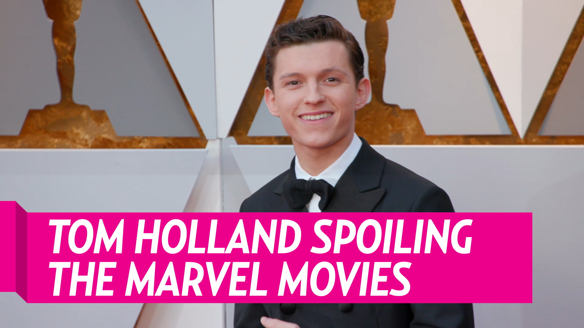 Tom Holland Spoiling the Marvel Movies