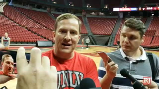 T.J. Otzelberger, UNLV basketball coach – VIDEO