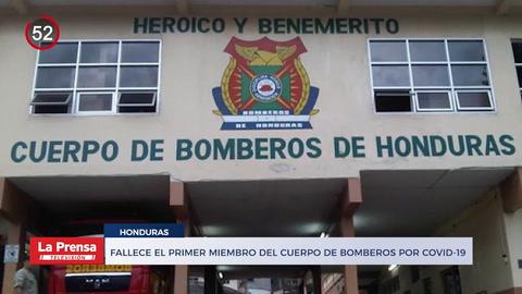 Noticiero: Fallece el primer miembro del Cuerpo de Bomberos por COVID-19