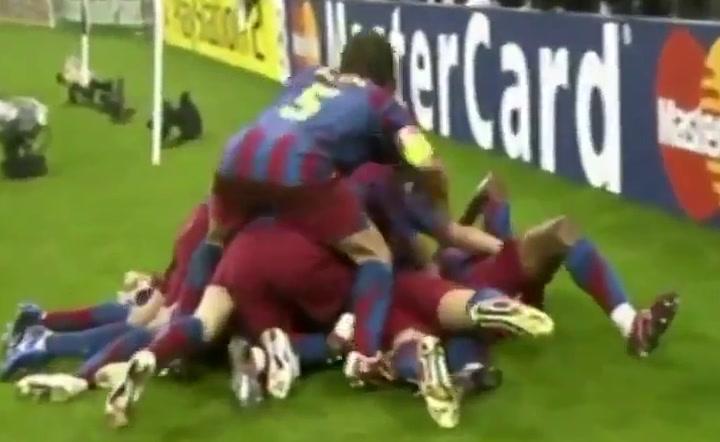 Así fue el gol de Belletti que dio la Champions al Barça en 2006