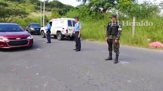 Hallan encostalado en colonia Loarque de la capital de Honduras