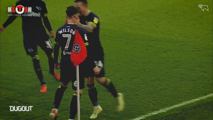 Derby County's best free-kicks
