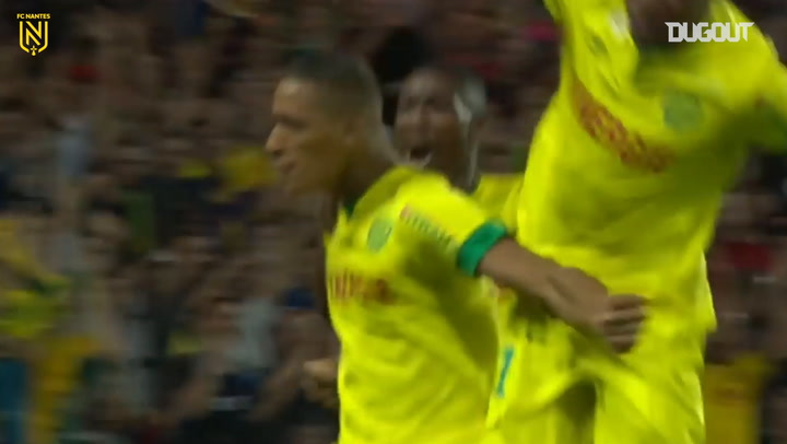 Yacine Bammou scores winner vs Lens with his first professional shot