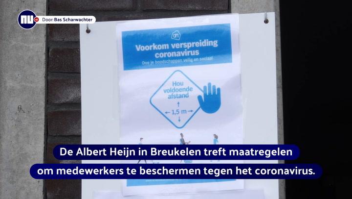 Albert Heijn neemt extra maatregelen tegen corona