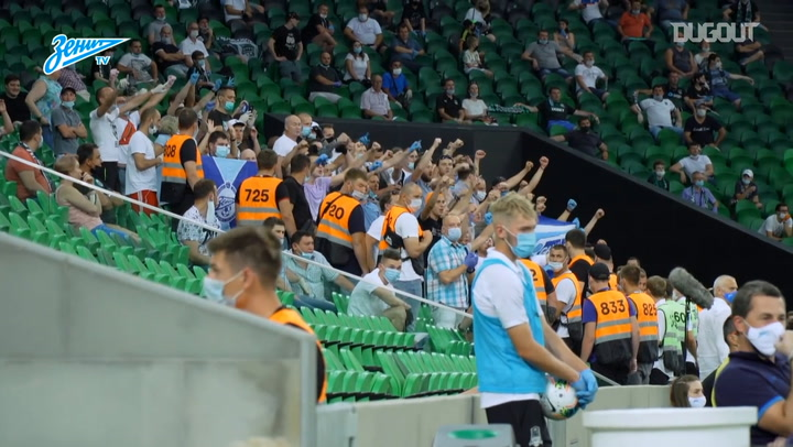 Zenit crowned Russian champions