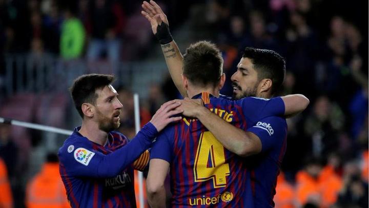 LaLiga: Resumen y Goles del Partido Barça (3) - (1) Rayo Vallecano del 09/03/2019