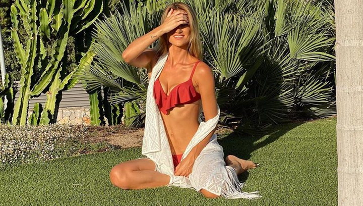 This is Elena Galera, Sergio Busquets's wife