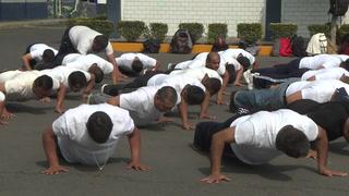 Ciudad de México pone a sus policías en forma
