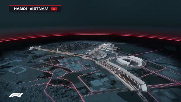 Así será el circuito de Hanoi de Fórmula Uno