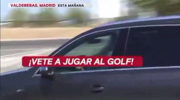 Bale, increpado a la salida de Valdebebas