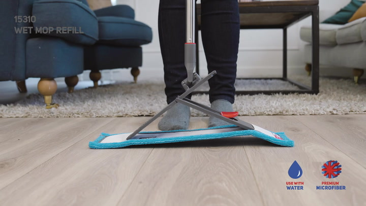 Preview image of Nordic Stream Quick Click Pocket Mop Refils video