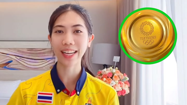 """ดูชัดๆ """"น้องเทนนิส"""" พาชมเหรียญทอง """"โอลิมปิก 2020"""" แบบใกล้ชิด"""