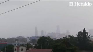 Alerta en varios deptos. de Honduras por empuje de aire frío