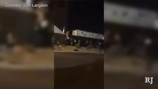 Taxi Video of Las Vegas Mass Shooting at Mandalay Bay