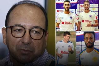 Osman Madrid no está conformes con rendimiento de los extranjeros que trajo Keosseián