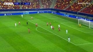 El golazo de chilena Oliver Giroud ante el Atlético de Madrid