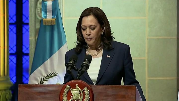 Kamala Harris tells undocumented migrants in Guatemala: 'Do not come to US'