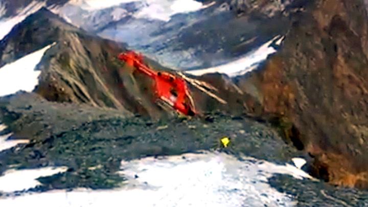 Plutselig mister redningshelikopteret kontrollen
