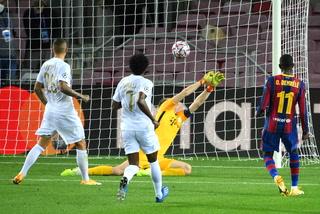 ¡Un show! Dembelé volvió a aparecer: regateó, asistió y anotó el quinto para Barcelona